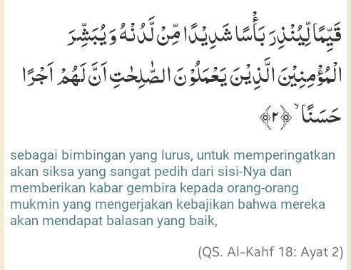 Bacaan Surah Al Kahfi 1 10 Dan Keutamaan Menghafal Sepuluh